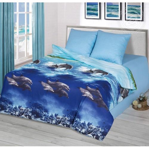 Голубая лагуна (Бязь ПРЕМИУМ)