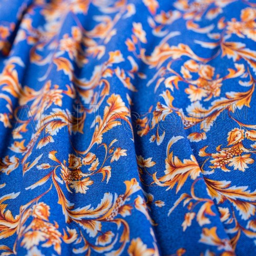 Плательная ткань Жар-птица