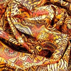 Плательная ткань Африканские мотивы