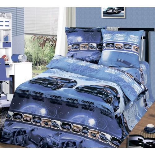 Детский постельный комплект Драйв