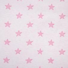Звезды розовые