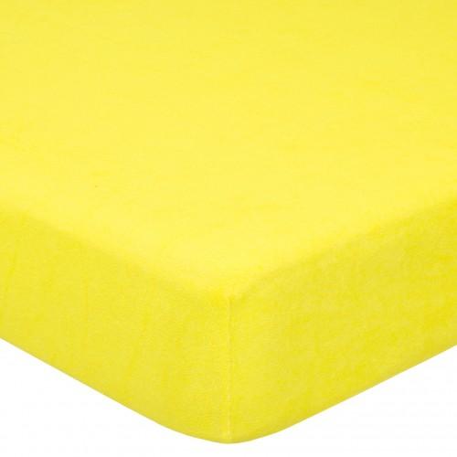 Лимон махровая простынь