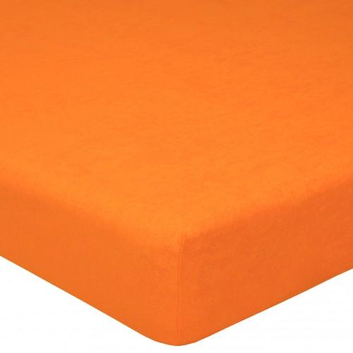 Апельсин махровая простынь