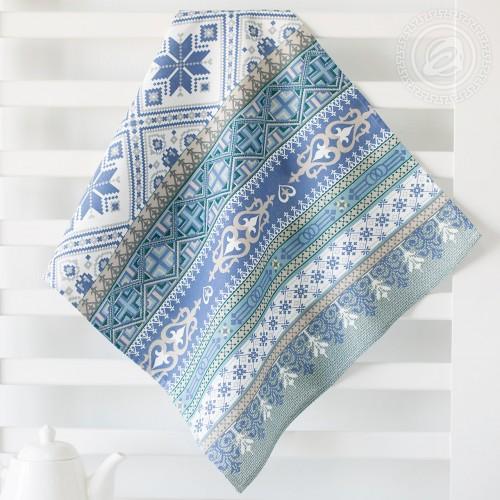 Домашний очаг (Полотенца из рогожки)