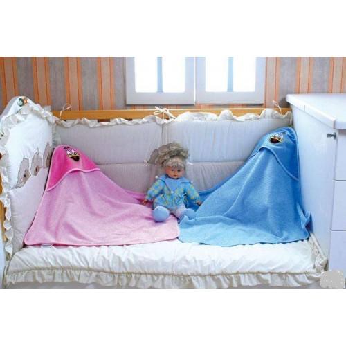 Уголки детские махровые полотенца с капюшоном в южной текстильной компании