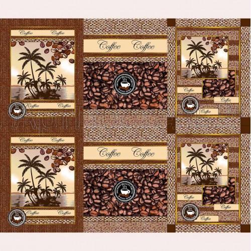 Аромат кофе (Вафельное полотно)