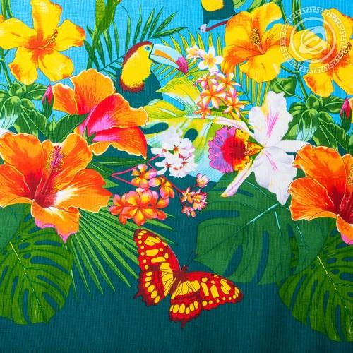 Багамы (Вафельное полотно)