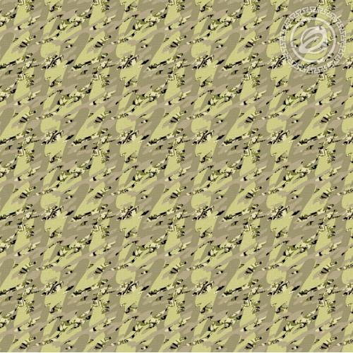 Камуфляж Хаки (Вафельное полотно)